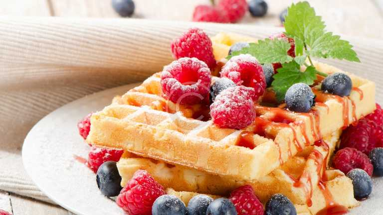 The Best Belgian Waffles Recipe